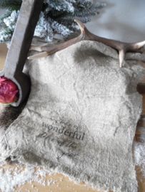 Shabby doek | wonderful time ...