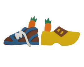 klomp / schoen met wortel