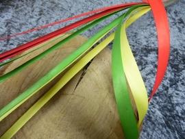 fineerstrips | rood/geel/groen
