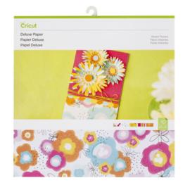 Cricut Luxe papier, levendige bloemen