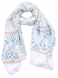 sjaal met barok print