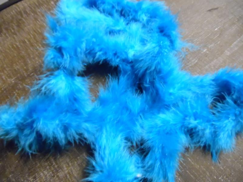 marabou  blauw