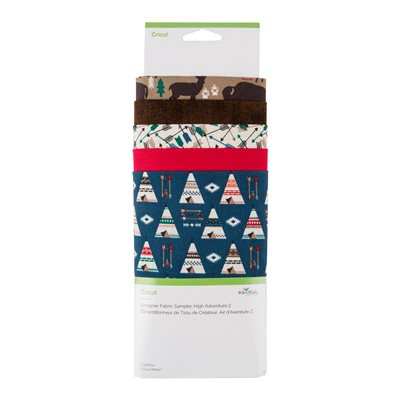 Designer Fabric Sampler | high adventure incl. stofpen