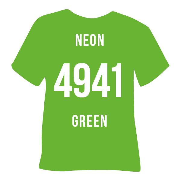 poli flex turbo neon groen A4