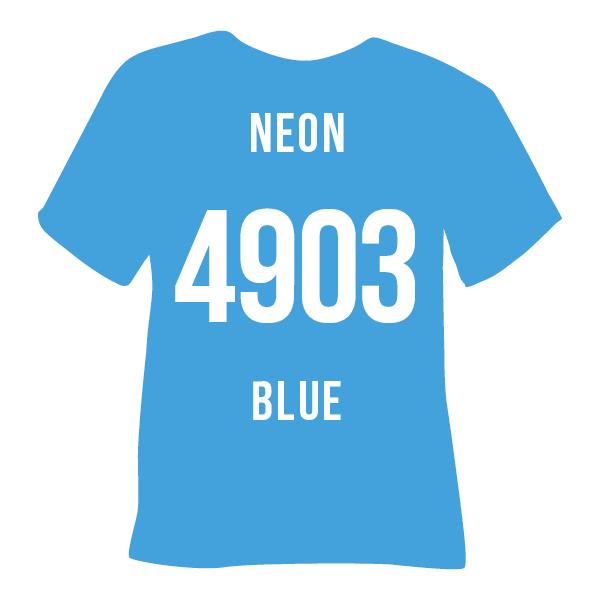 Poli-flex turbo  neon blauw   50 x 14 cm