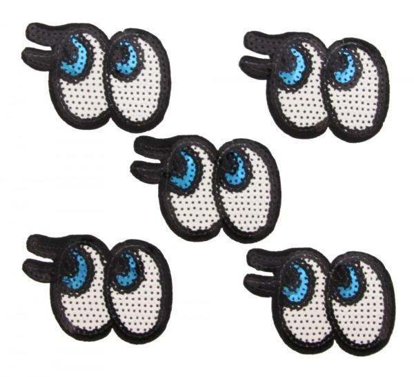 patch/applicatie ogen met wimper
