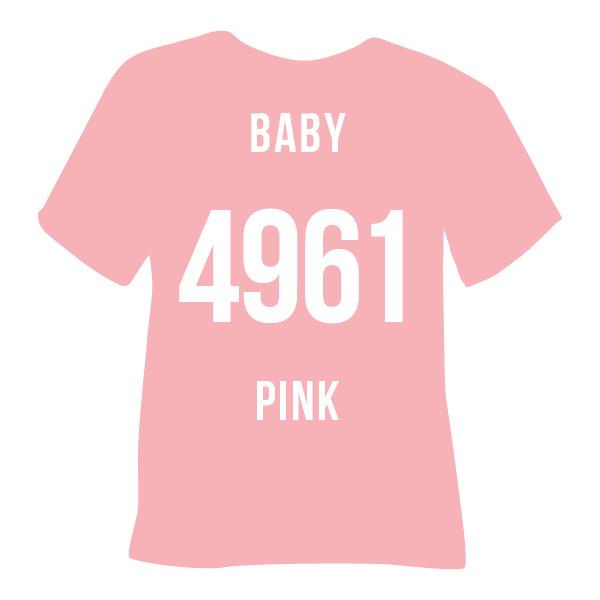Poli-flex turbo  baby pink   50 x 14 cm
