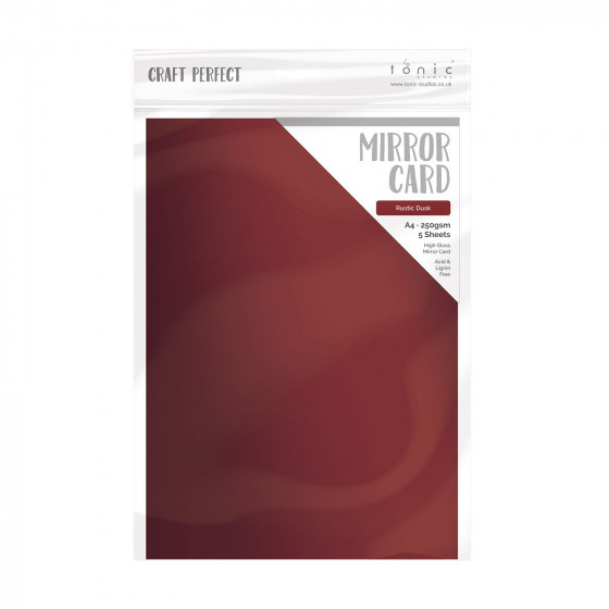 Tonic Studios • Craft perfect mirror card rustic dusk