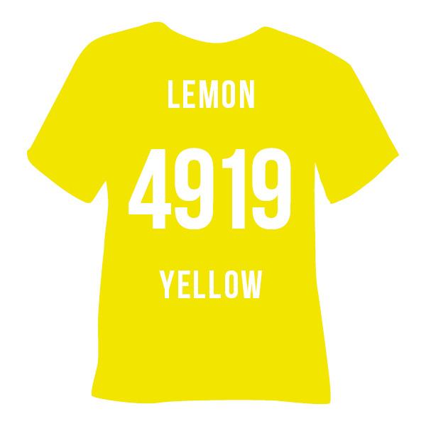 Poli-flex turbo  lemon geel | 50 x 14 cm