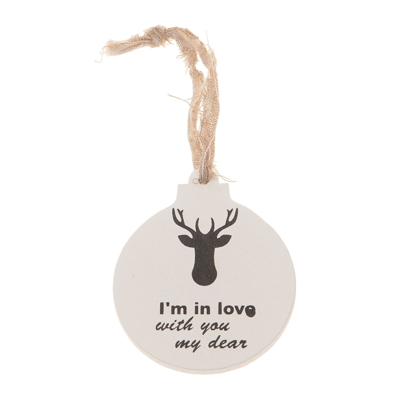 houten hanger bal | I'm in love....