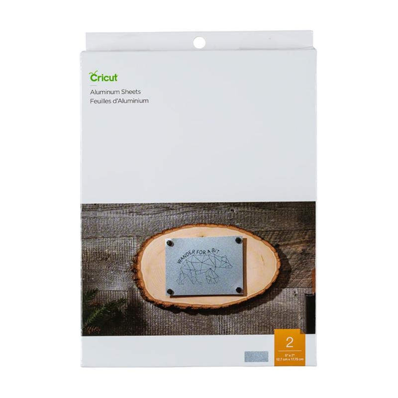 "Cricut Aluminium Sheets, 5"" x 7"" (12,7 cm x 17,78 cm)"