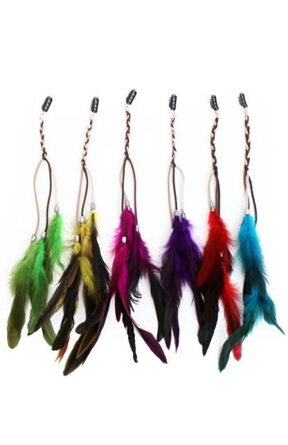 veren extension met haarklip