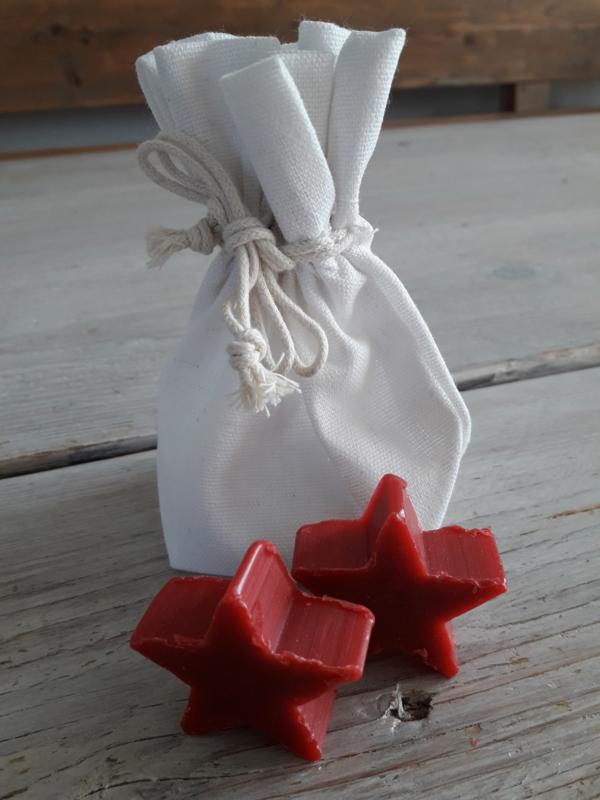 zeep ster | red cinnamon
