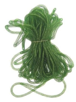 decoslang tube 10mm groen 2,5 mtr
