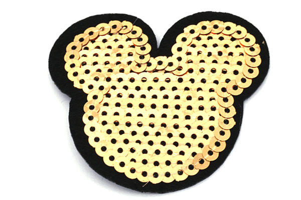 patch   Mickey Mouse goud