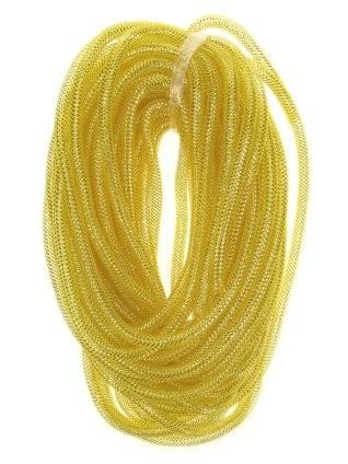 decoslang tube 10mm geel 2,5 mtr