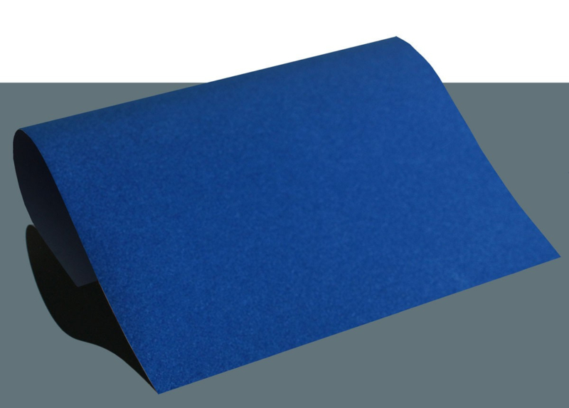 siser stripflock A4   koningsblauw