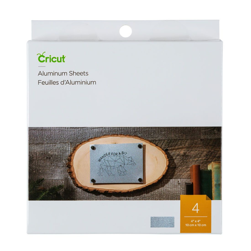"Cricut Aluminium Sheets, 4"" x 4"" (10 cm x 10 cm)"