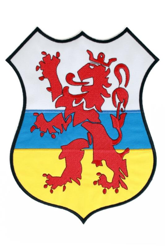 strijkapplicatie wapen van Limburg