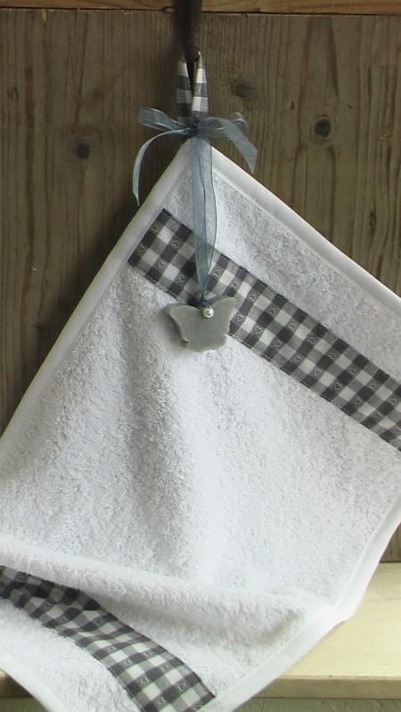 gasthanddoek wit met zeep