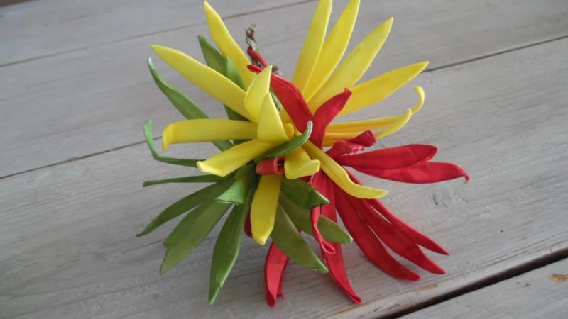 foam bloem | rood/geel/groen