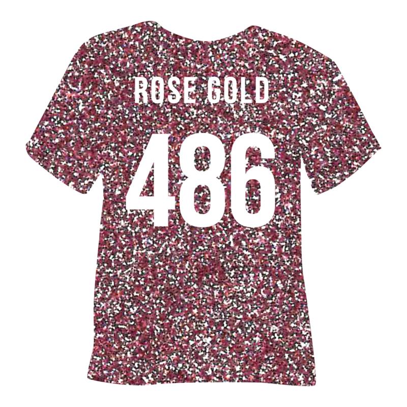 poli-flex pearl glitter | rosé gold