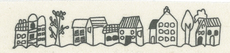 ribbon huisjes