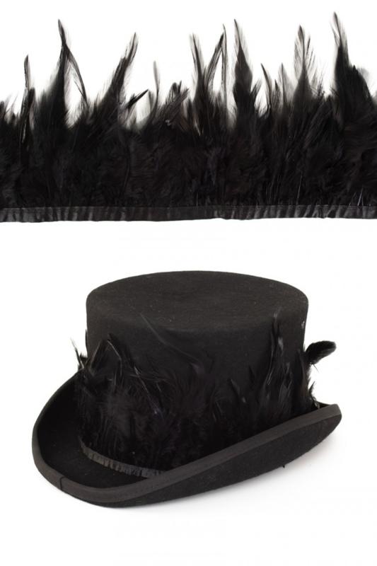 veren op band zwart