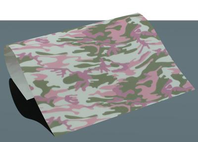 flex camouflage roze/groen