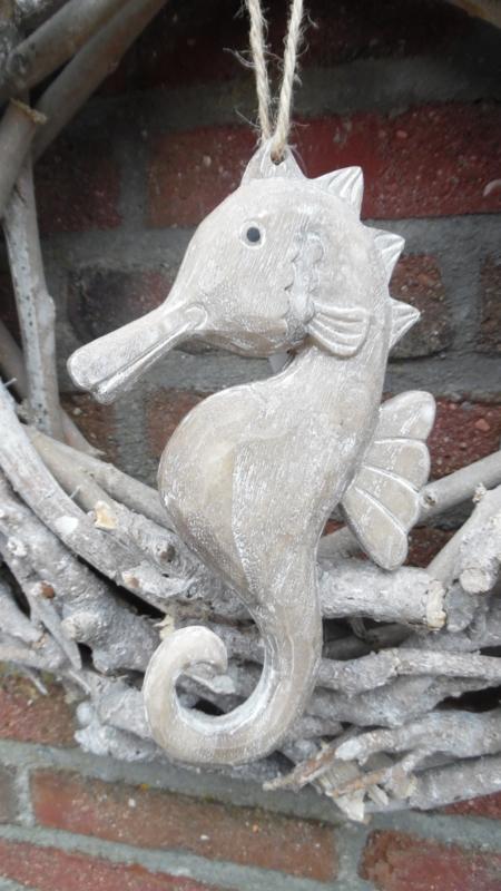 houten zeepaard L