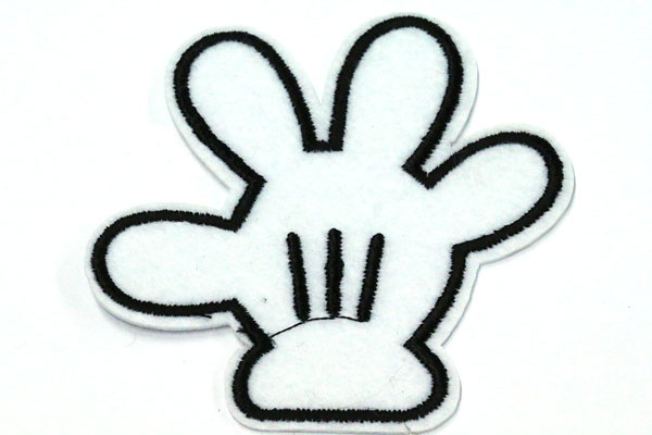 patch | hand mickey mous