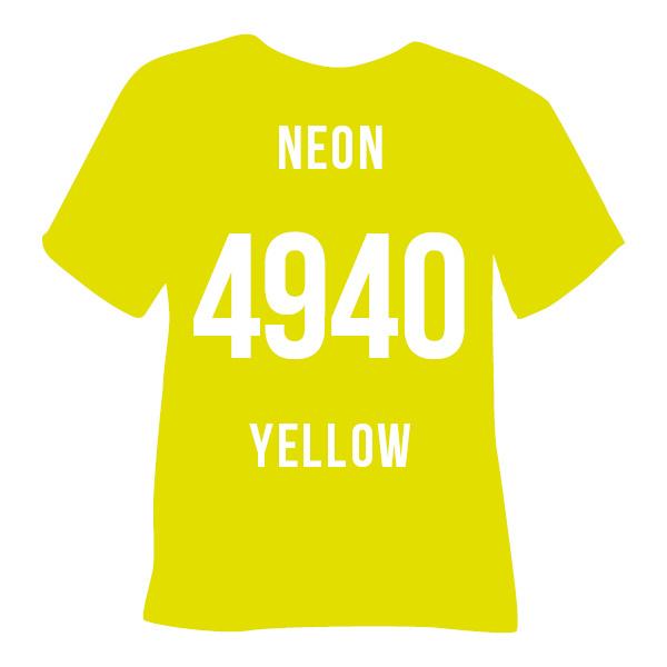 Poli-flex turbo neon geel   50 x 14 cm
