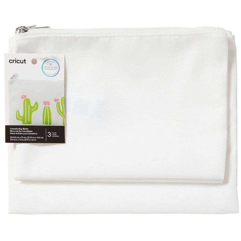 Cricut Cosmetic Bag Blanks (3pcs)