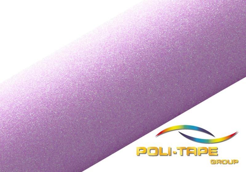 poli-flex pearl glitter   neon-purple