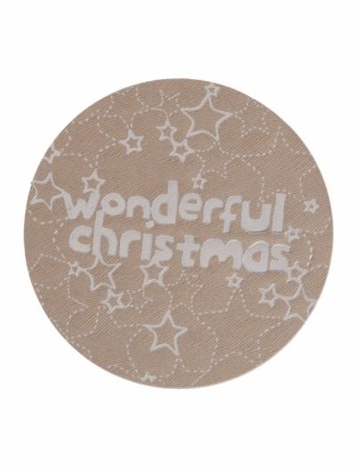 sticker   wonderfull christmas