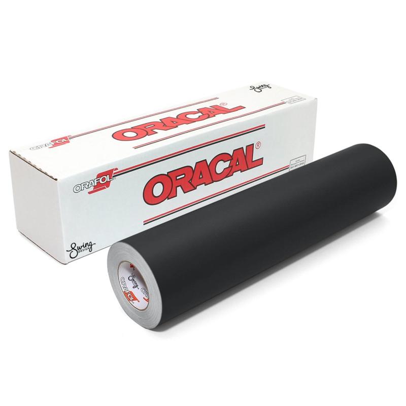 oracal 641 zwart matt vinyl