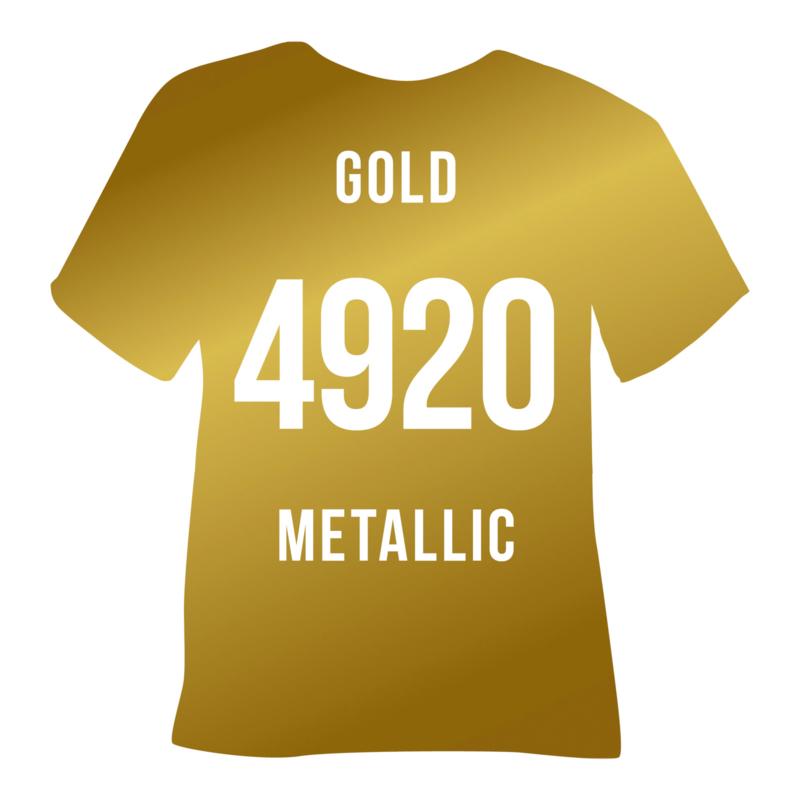 Poli-flex turbo  goud metallic | 50 x 14 cm