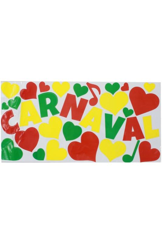 raamstickers carnaval