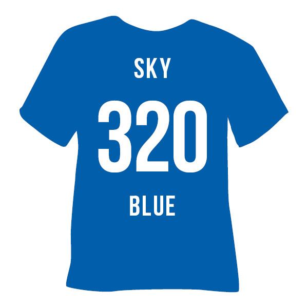 flock poli-tape tubitherm   sky blue