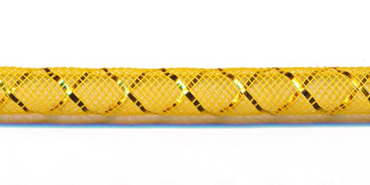 decoslang 8mm geel/goud