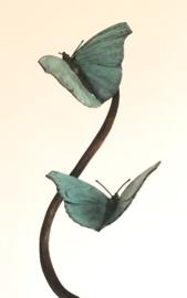 Vlinder (Atalantavlinder) - bronzen beeld