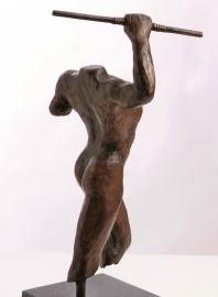 Griekse strijder - bronzen beeld