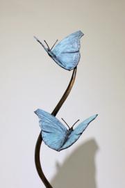 Omhoogvliegende vlinders - brons