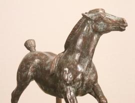 Bronzen torso paard - Equus I