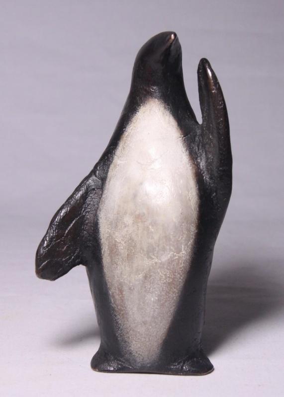 "Pinguin no.2 ""Thanks and goodbye"" - brons"