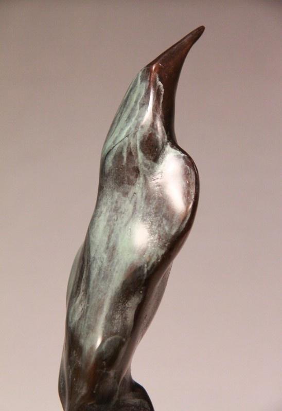 Bronzen beeld  `Let me Think`