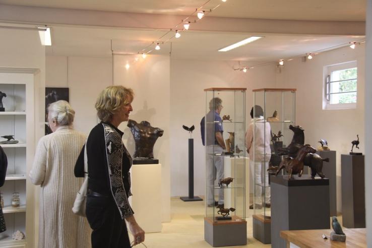 Kunstweekend - galerie bronzen beelden