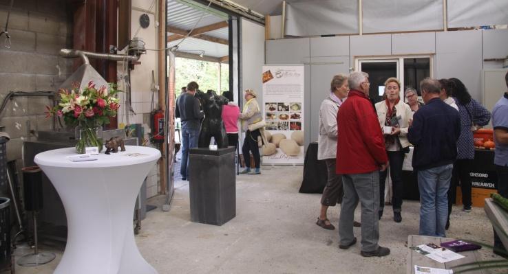 Kunstgroep KP Atelierroute - bronzen beelden