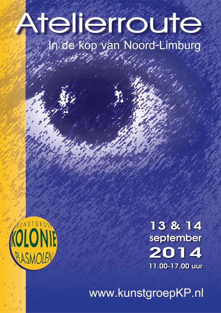 Atelierroute 2014 kunstgroep KP