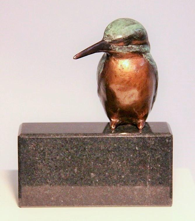 bronzen ijsvogel - mooi cadeau